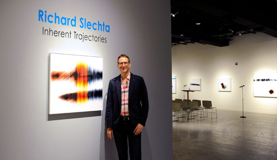 Solo exhibition of Slechta's photograms at International Museum of Art and Science