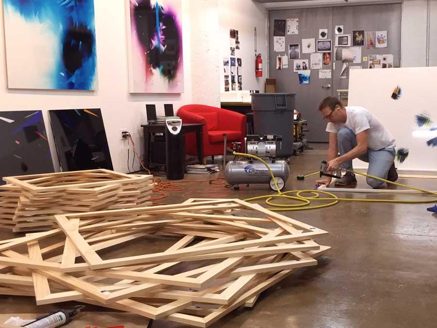 Preparing artworks for framing
