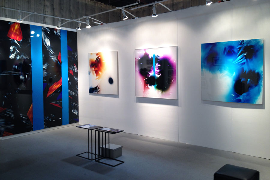 exhibition of Slechta's photograms at Photo Independent 2015