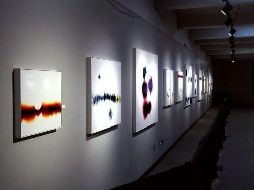 Solo exhibition of Slechta's photograms at Science Spectrum, TX
