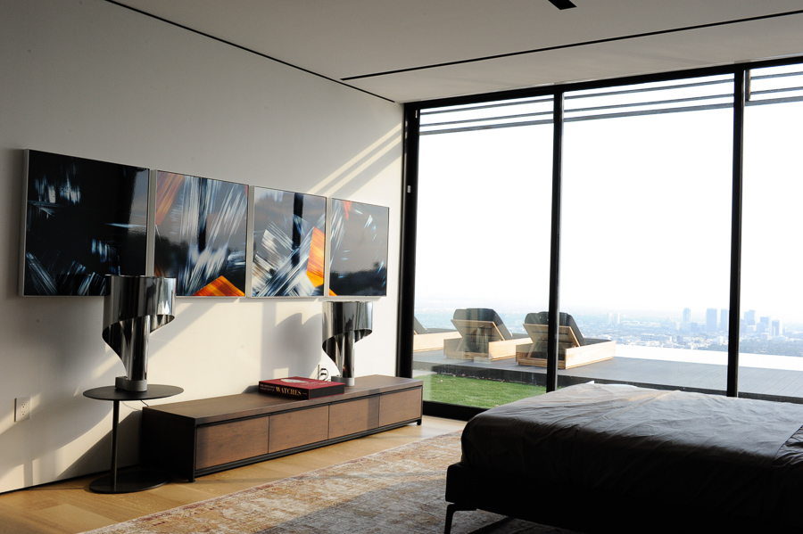 Artworks from the Junctions Collection, private Hollywood residence