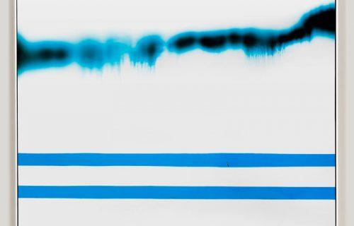minimalist color photogram titled; Accumulate Ordinary by artist Richard Slechta