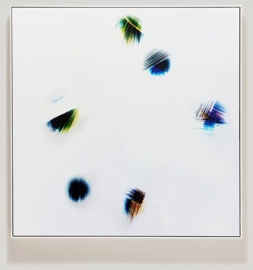 minimalist color photogram titled; Boundary Organizations by artist Richard Slechta