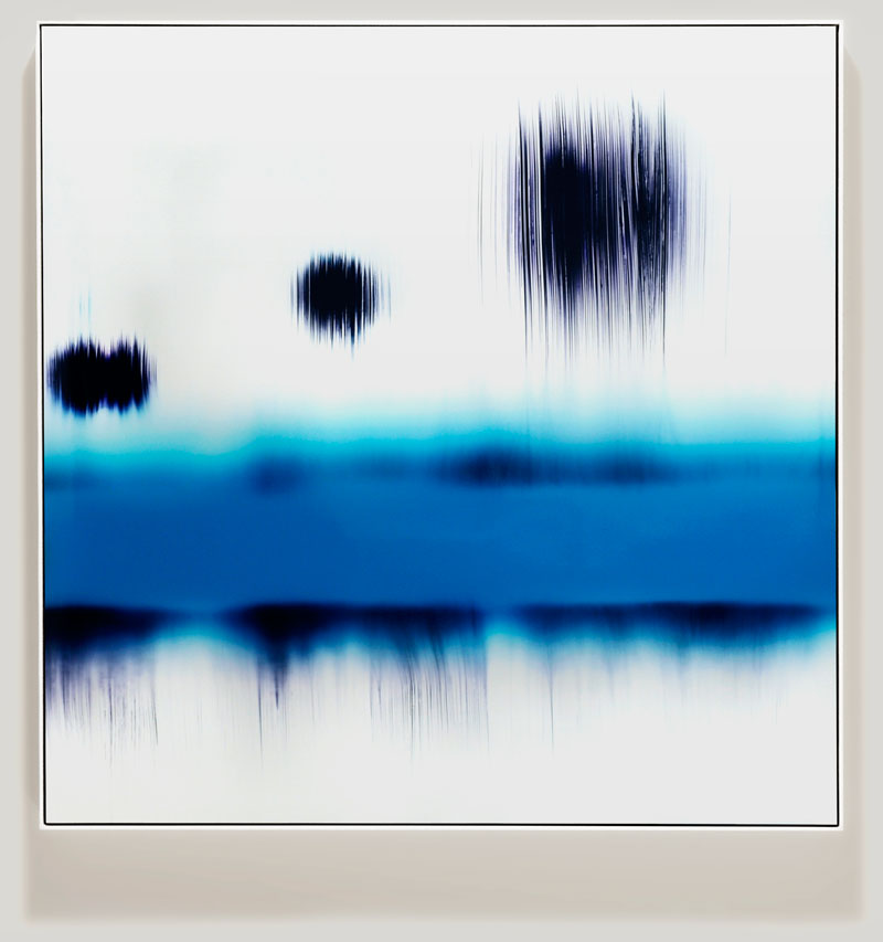 minimalist color photogram titled; Categorical Eligibility by artist Richard Slechta