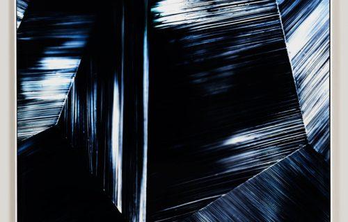 color photogram titled; Contagion Sensitivity by artist Richard Slechta