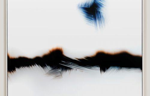 minimalist color photogram titled; Critical Superposition by artist Richard Slechta