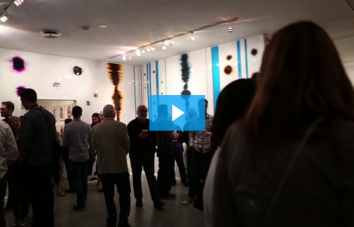Video of Crosscurrent Junction Exhibition by Artist Richard Slechta
