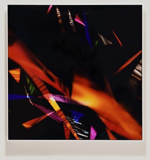 color photogram titled: Ecstatic En-Masse