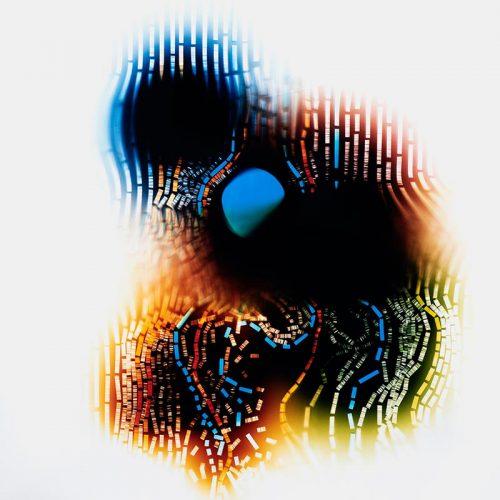 color Photogram, titled Gradient Advantage by lighting artist Richard Slechta