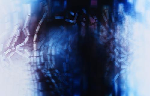 Incompressible flow by artist Richard Slechta 2020