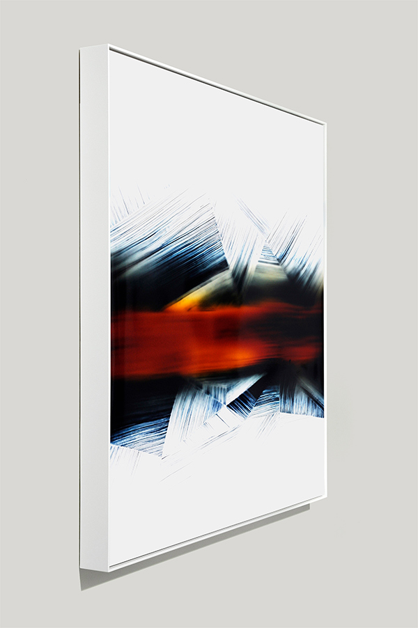 framed color photogram, Linear Regression