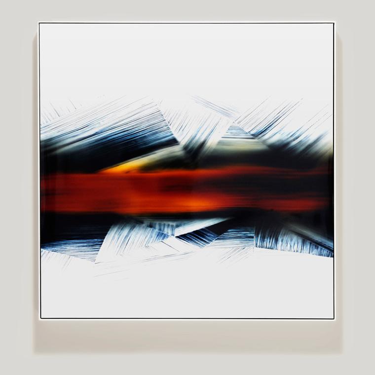 Linear Regression Framed Photograms