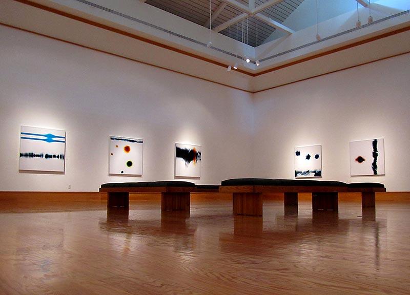 Exhibition of Richard Slechta's photograms at Hardin Center for the Arts, FL