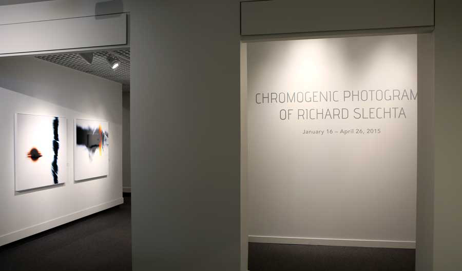 Solo exhibition of Slechta's photograms at Museum of Arts and Sciences, GA