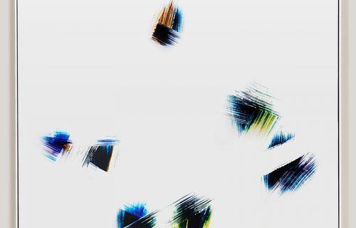 minimalist photogram titled: Net Volumes
