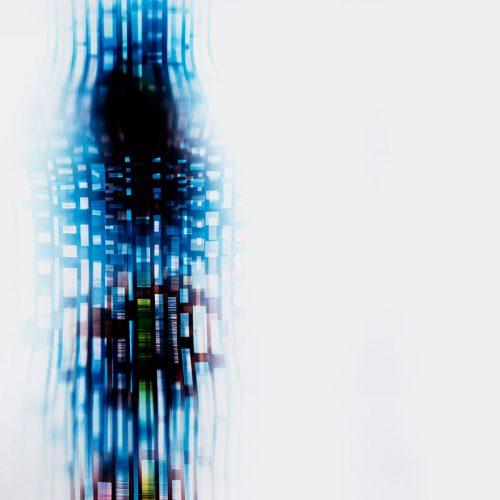 color Photogram, titled Nuanced Discontinuity by lighting artist Richard Slechta