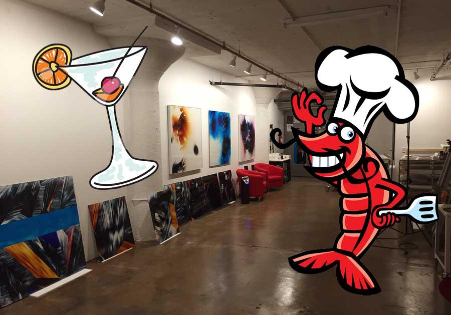 Open Studio and BBQ 2015