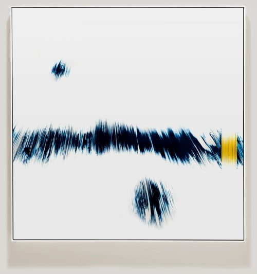 minimalist color photogram titled; Participating Standard by artist Richard Slechta