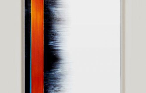 minimalist color photogram titled: 100 Ways, by artist Richard Slechta