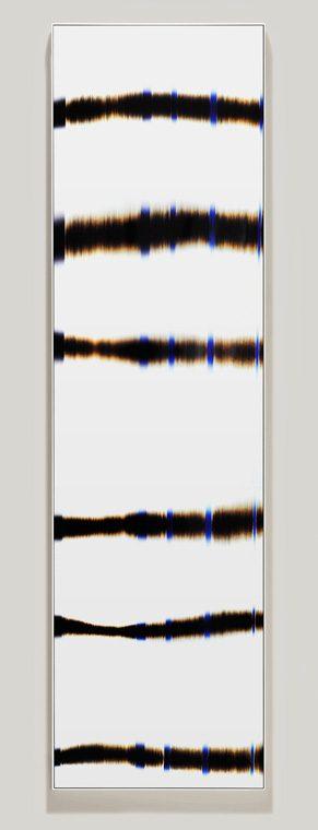minimalist color photogram titled: Parallel Target, by artist Richard Slechta