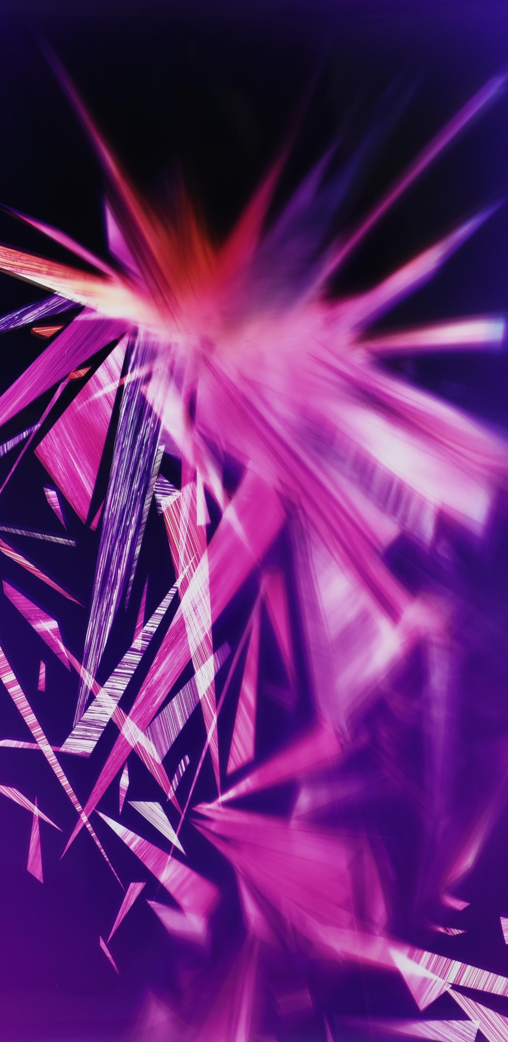 close-up detail of color photogram titled: Reciprocal Ablation from the series Precariously Bright