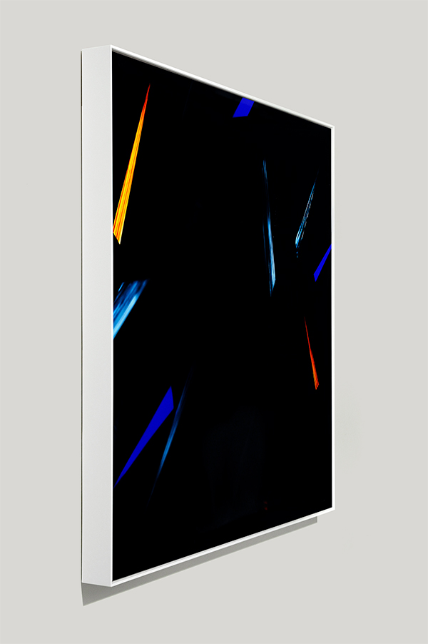 framed color photogram, recognition point