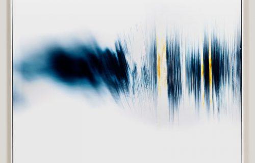 minimalist color photogram titled; Spreading Ordinary by artist Richard Slechta