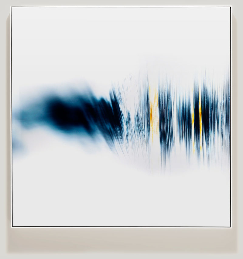 minimalist color photogram titled; Spreading Ordinary by artist Richard Slechta