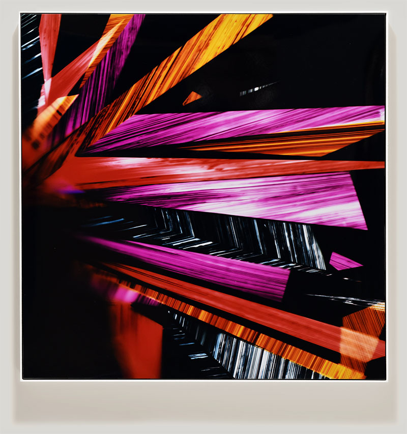 color photogram titled: Supreme Delight from the series Precariously Bright