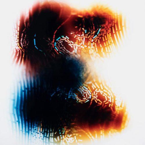 Photogram, Turbidity Current by lighting artist Richard Slechta